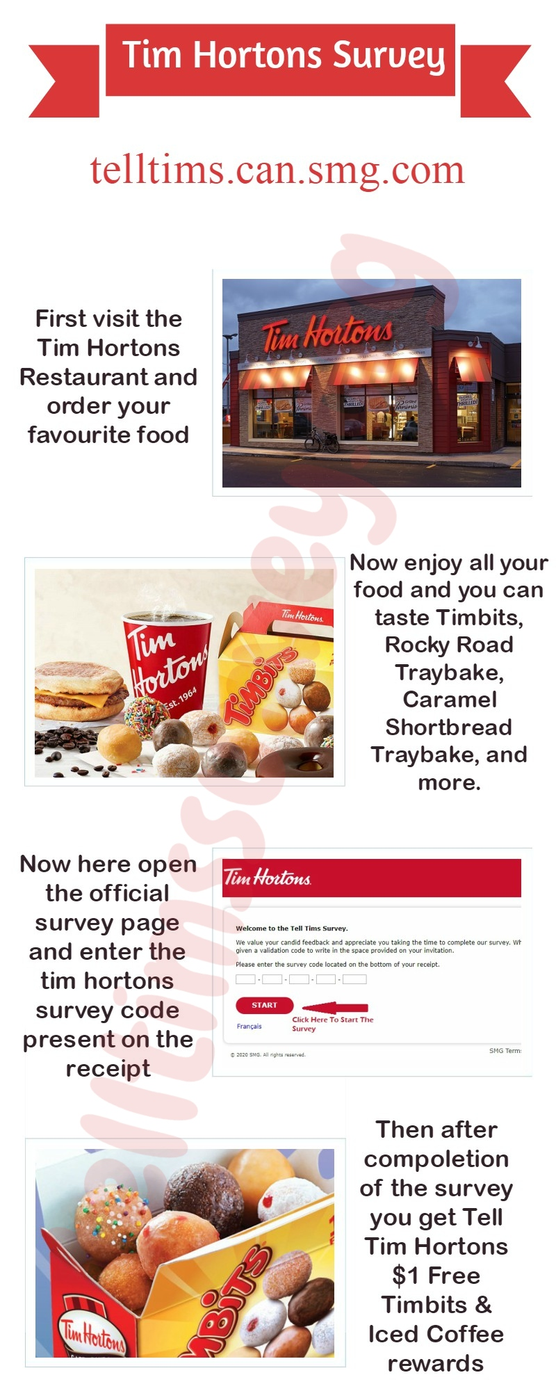 Tell Tim Hortons Survey Guide